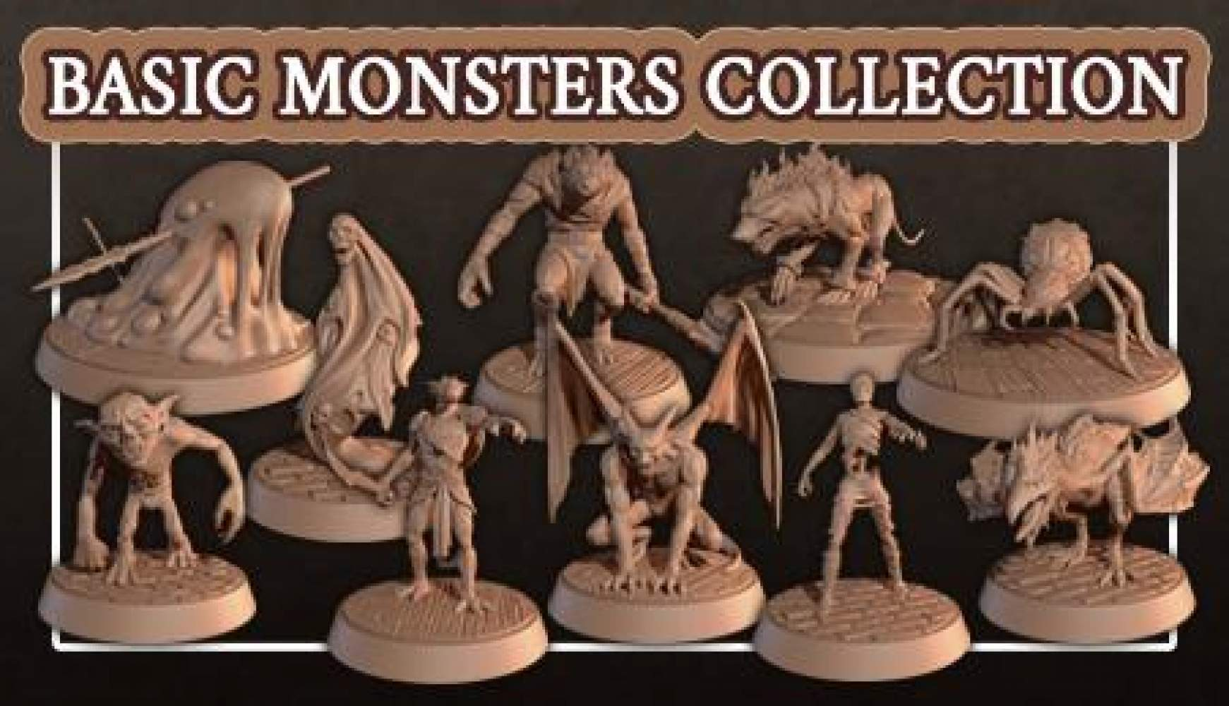 BASIC MONSTERS COLLECTION