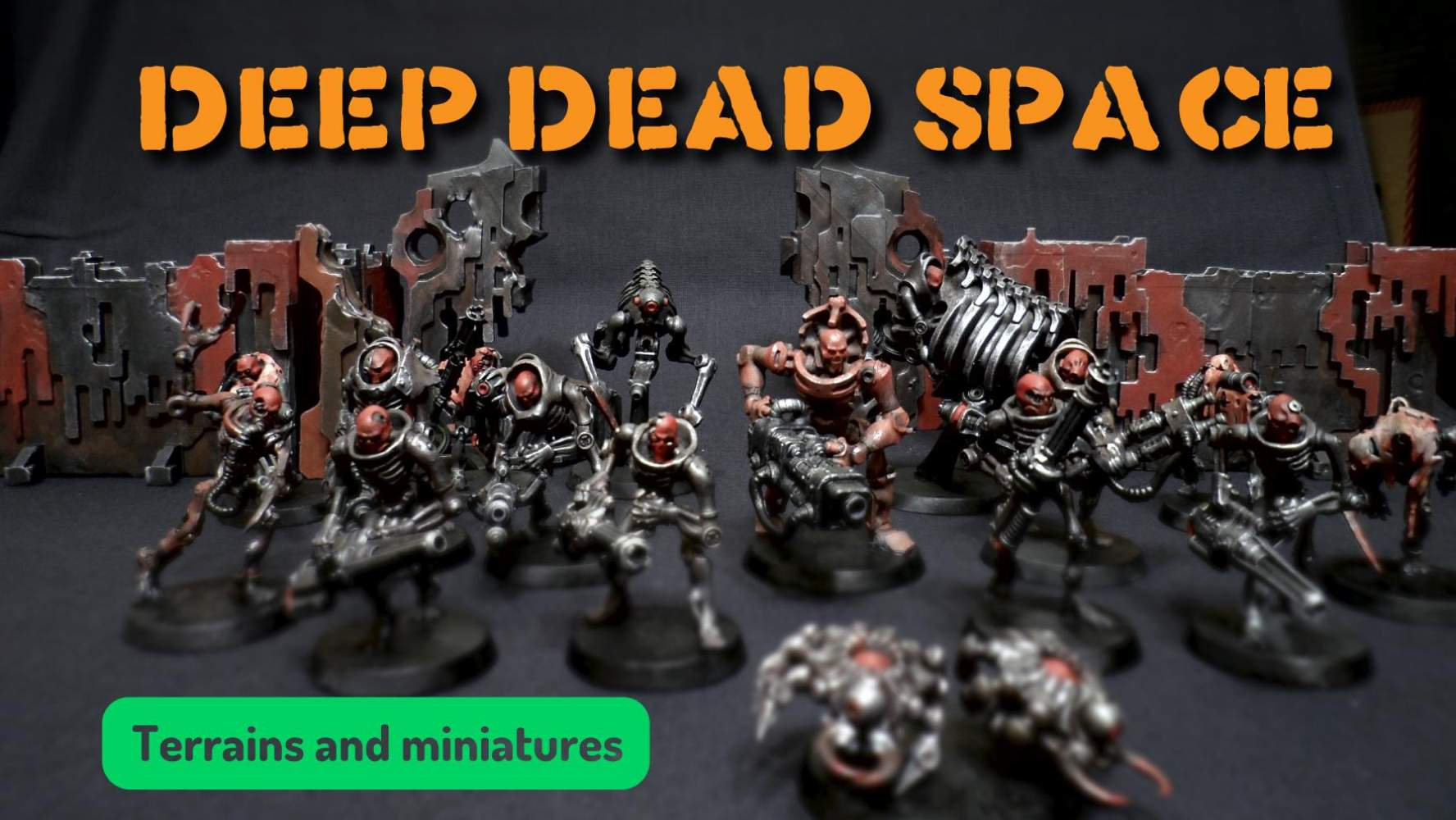 Deep Dead Space - Scifi Printable stl 3d miniatures