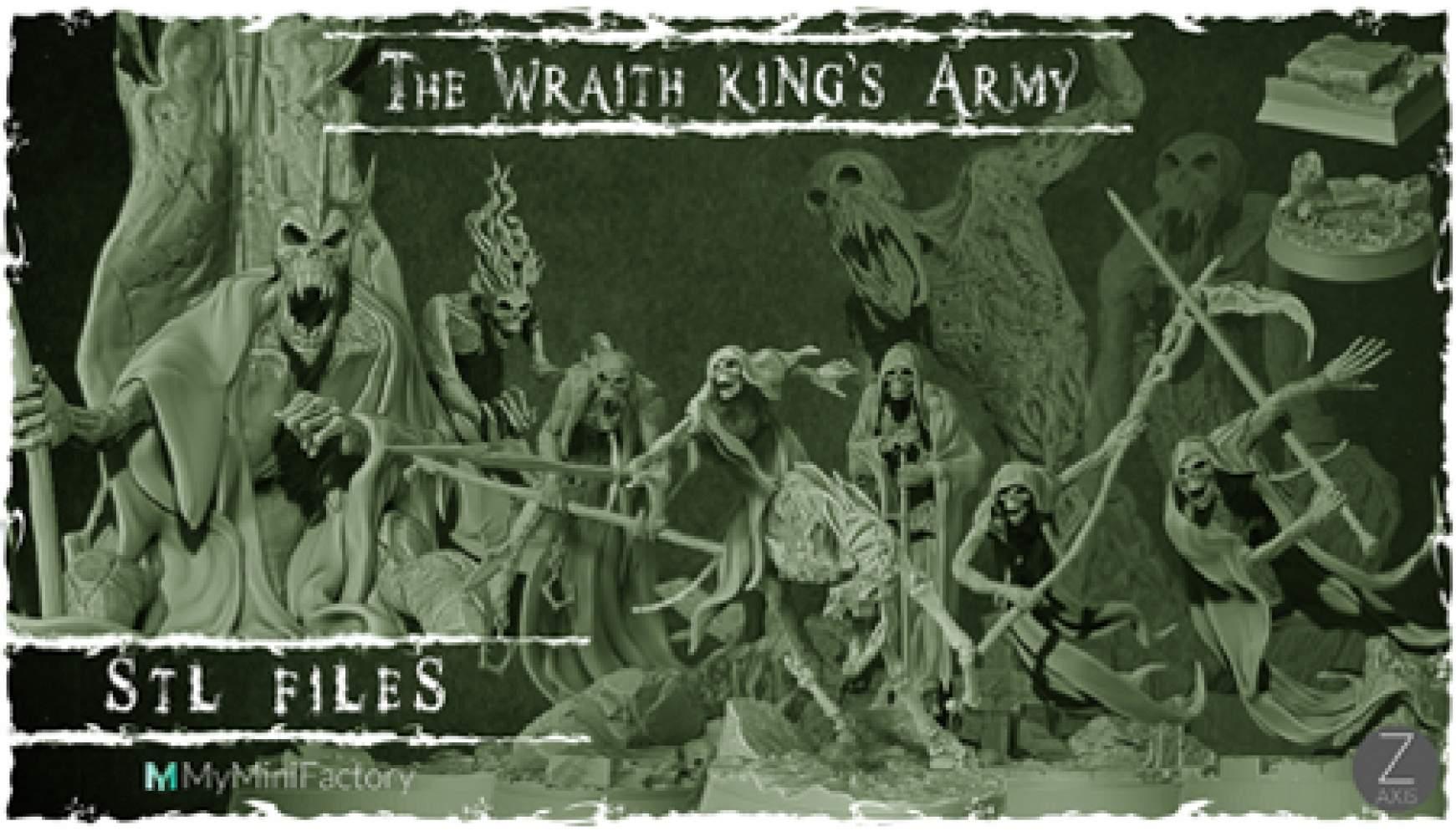 The Wraith King's Army
