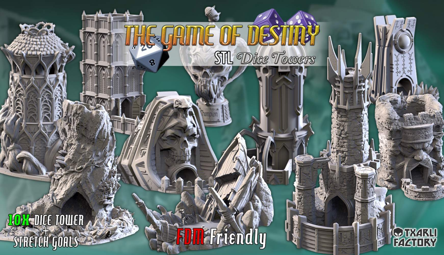 THE GAME OF DESTINY   Dice Towers
