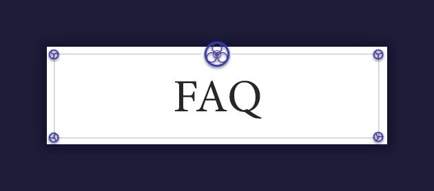 FAQ Heading