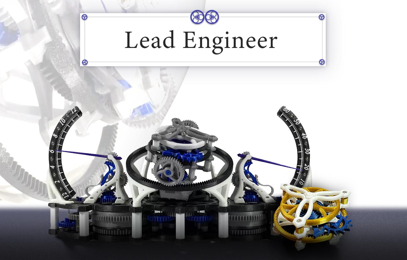 Lead Engineer Pledge