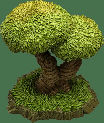 Majestic Enchanted Trees