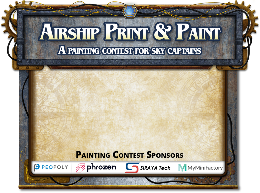 Airships Print & Paint Competition