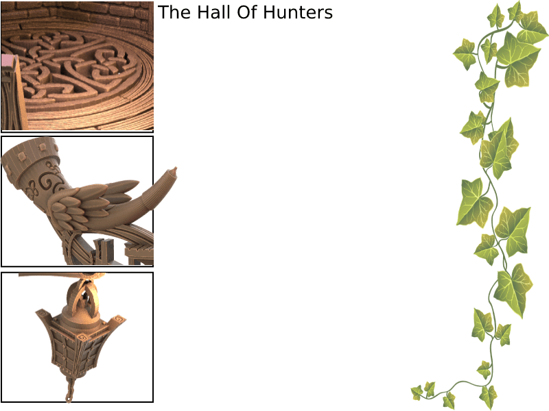 The Hall of Hunters Background