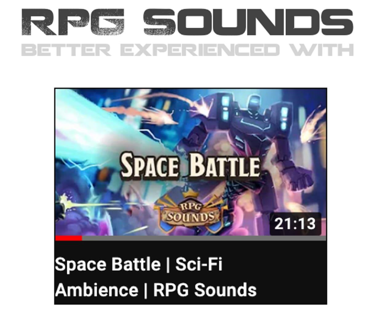 RPG Sounds