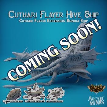 Cuthari Flayer Hive Ship
