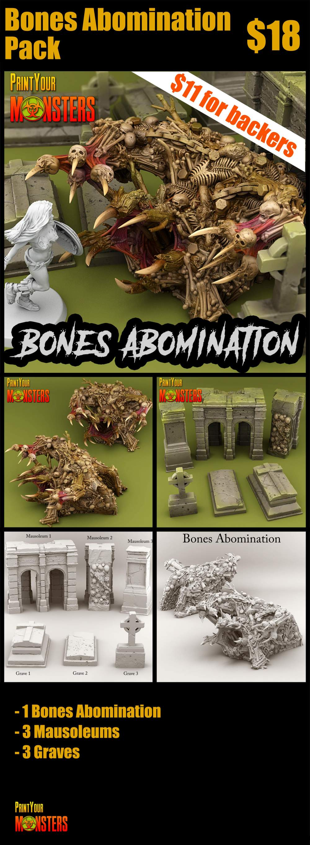 Bone Abomination Pack