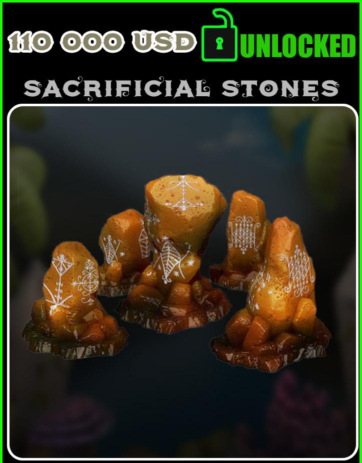 SACRIFICIAL STONES