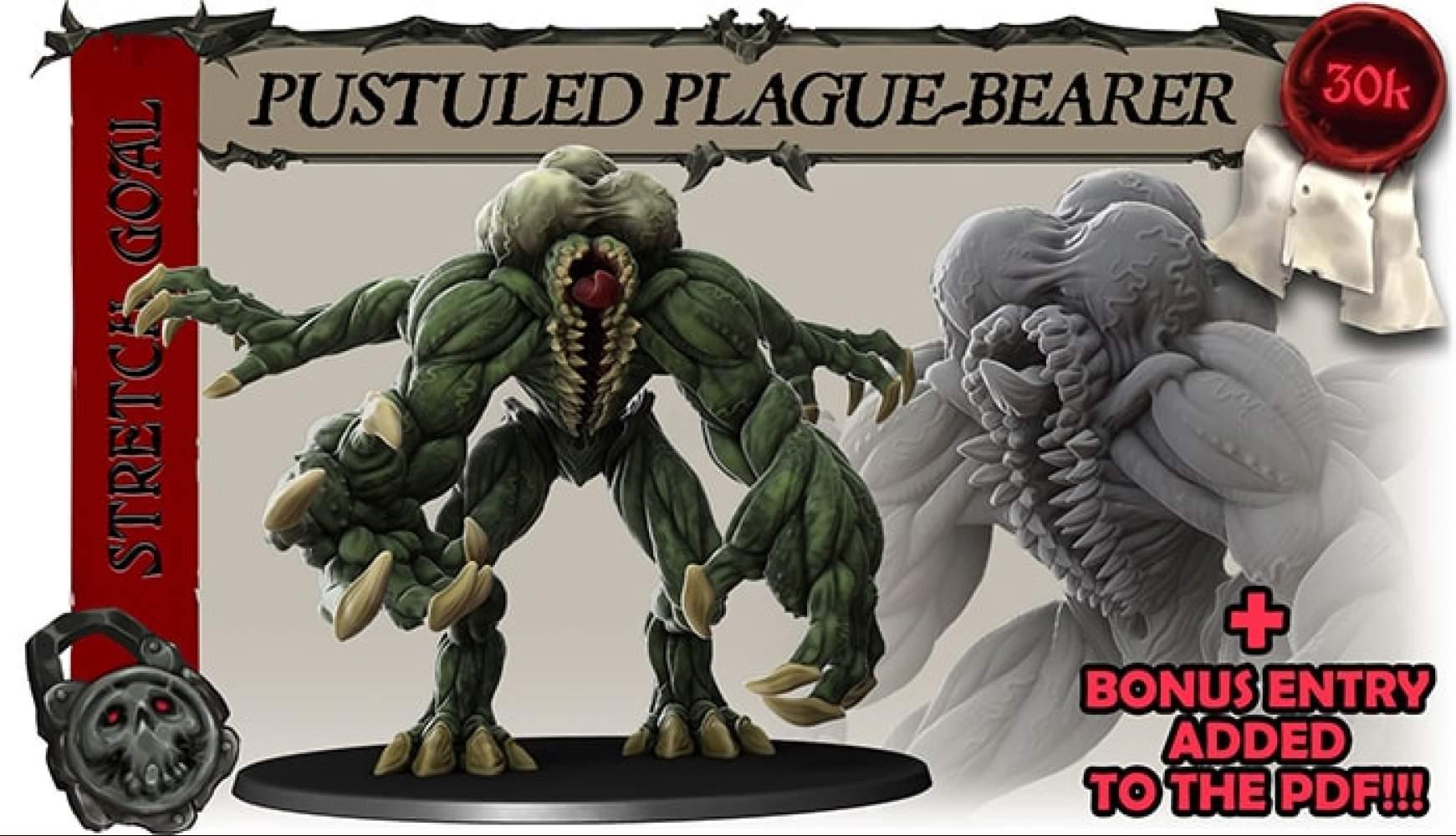 PUSTULED PLAGUE-BEARER