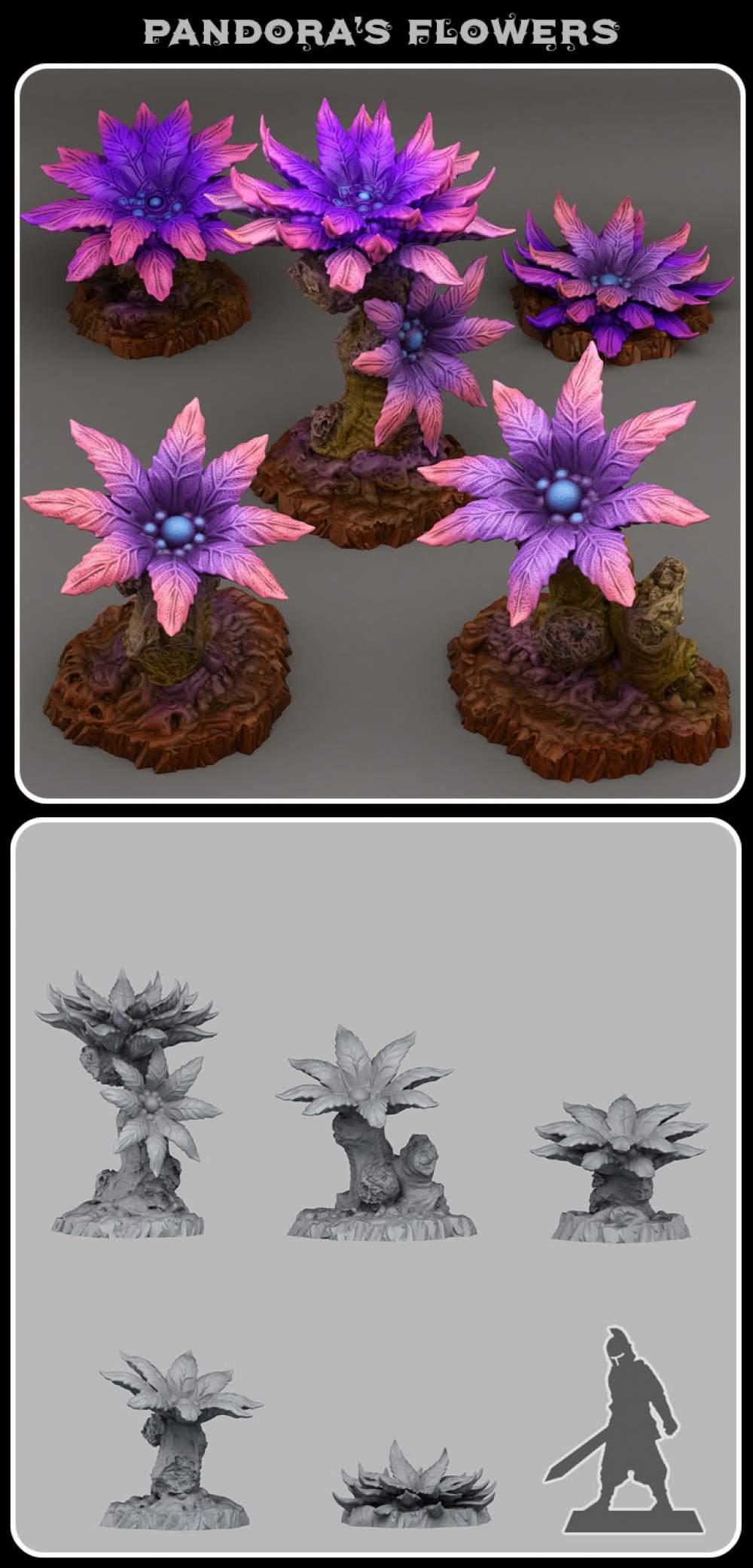 Pandora's flowers