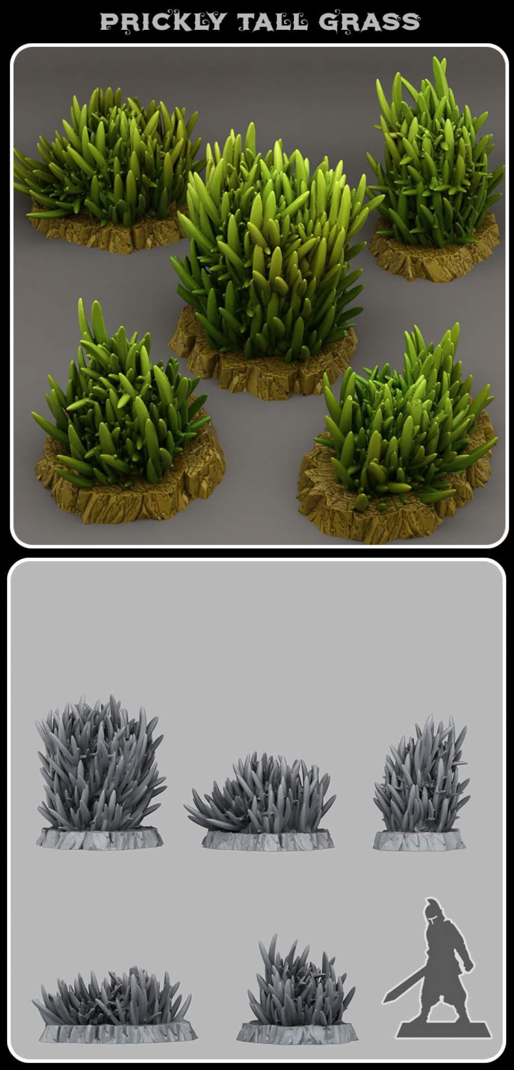 Prickly tall grass