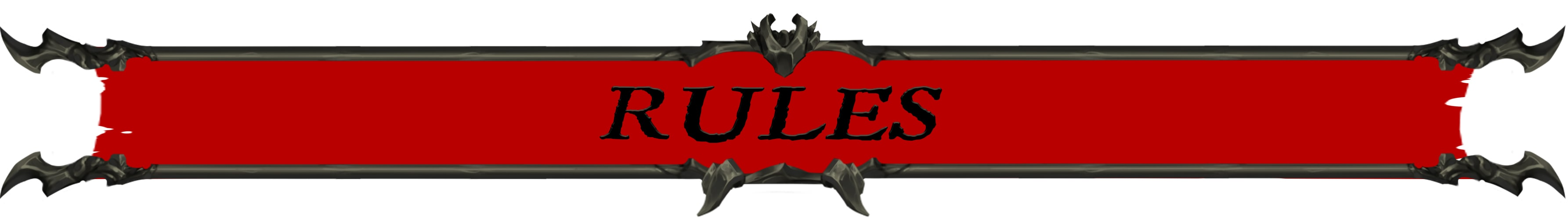 Rules Banner