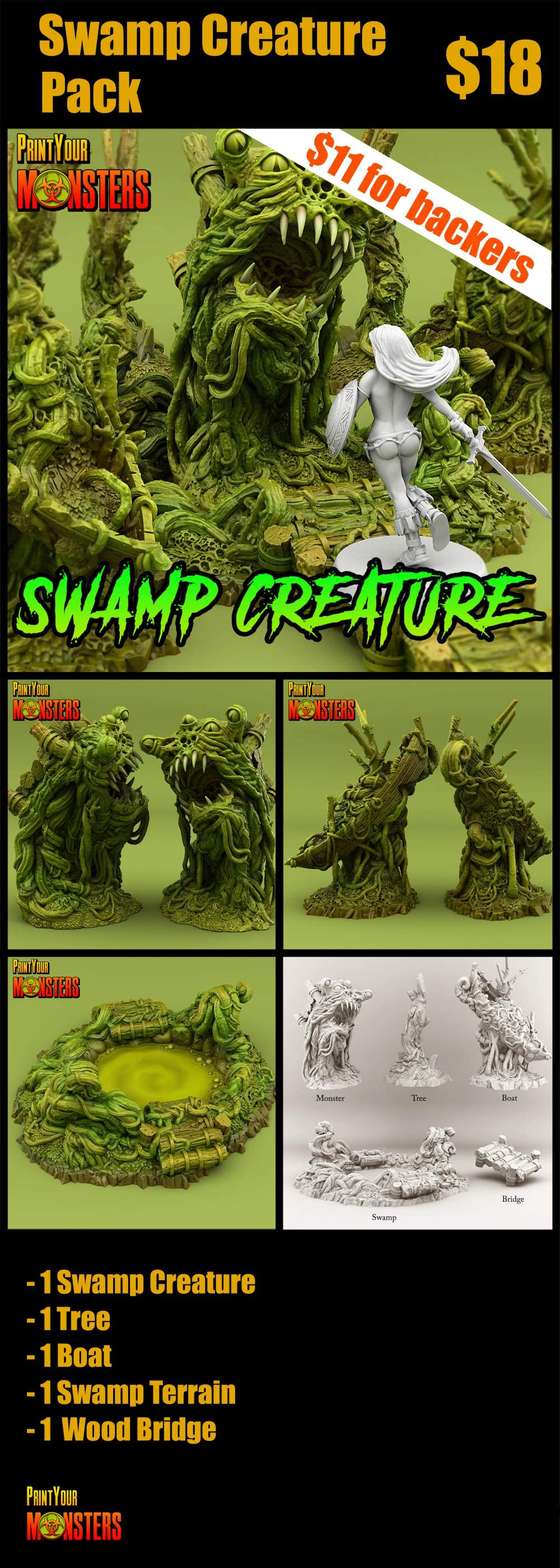 Swamp Creature Pack