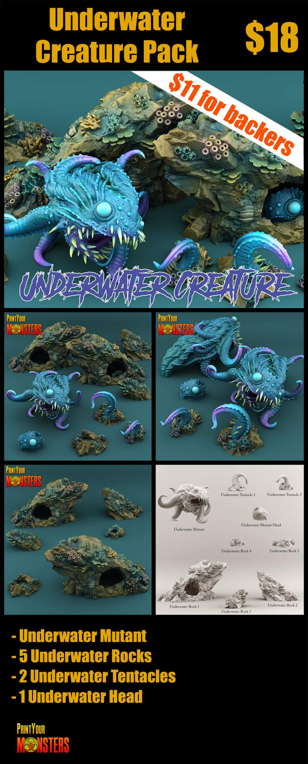 Underwater Creature Pack