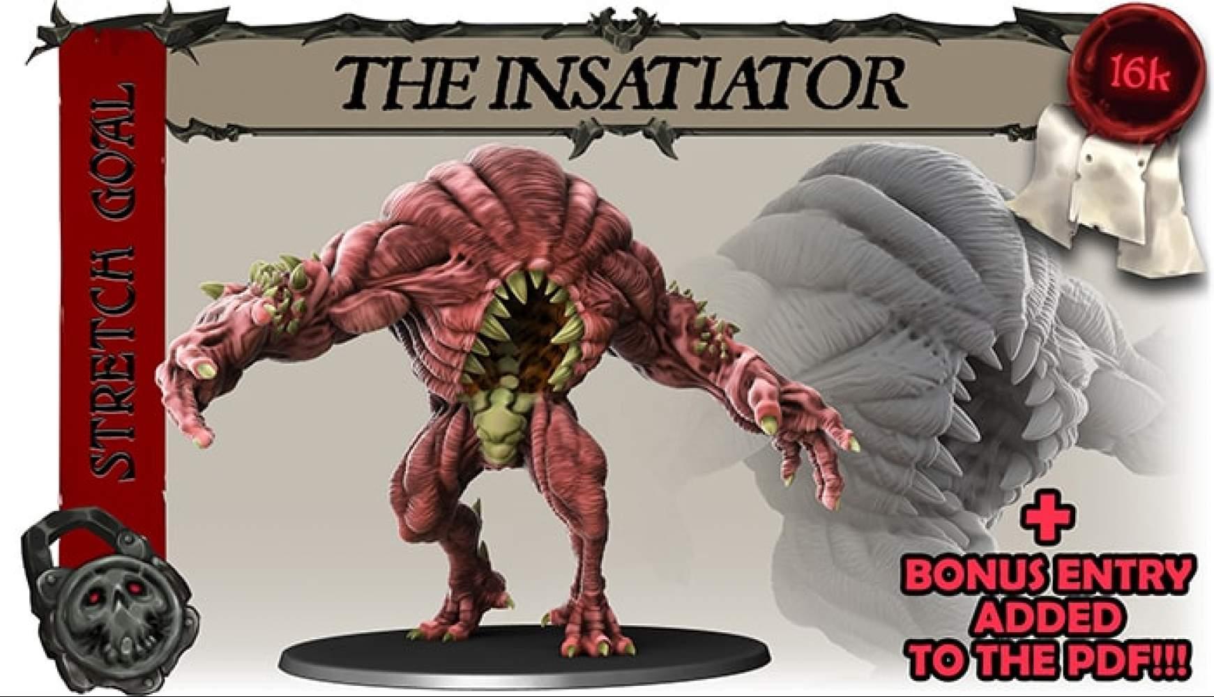 THE INSATIATOR