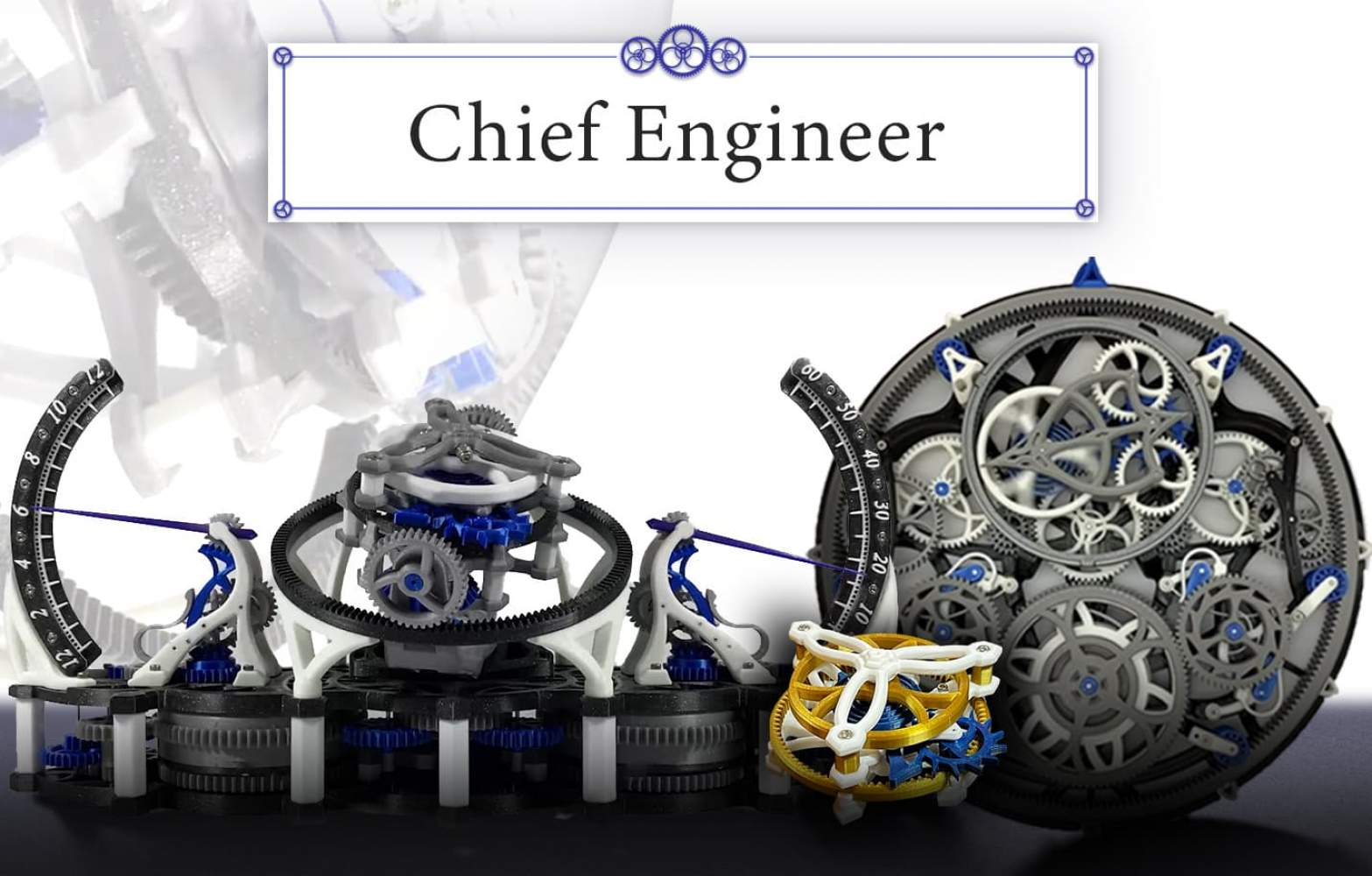 Chief Engineer (Late Pledge)'s Cover