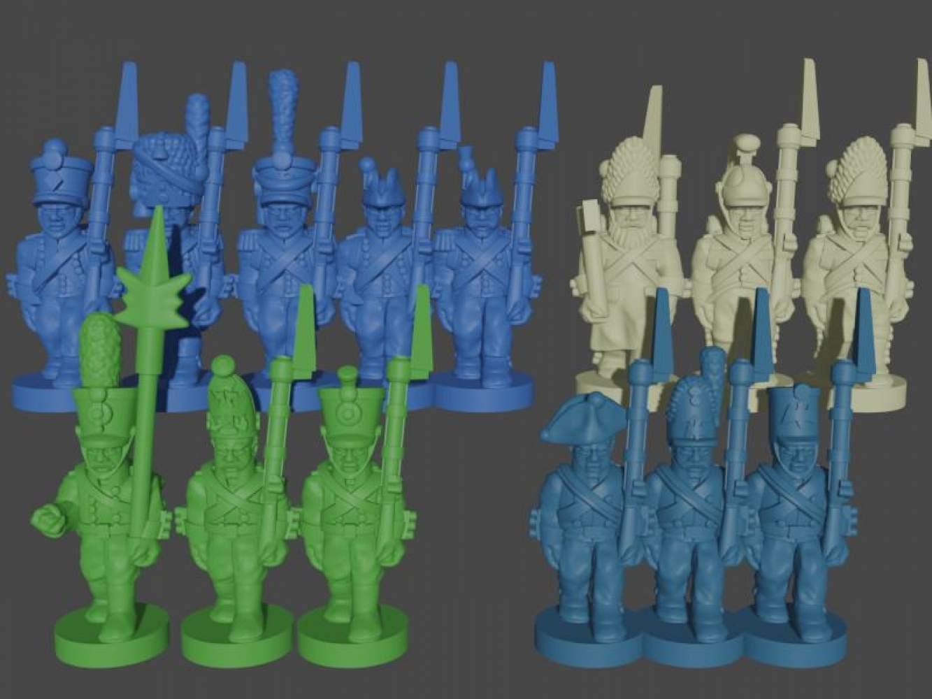 Core Armies STL Set's Cover