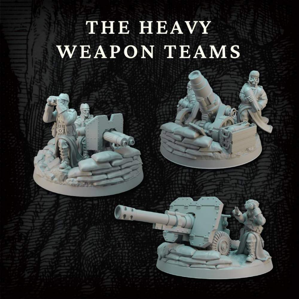 Heavy Weapons Teams's Cover
