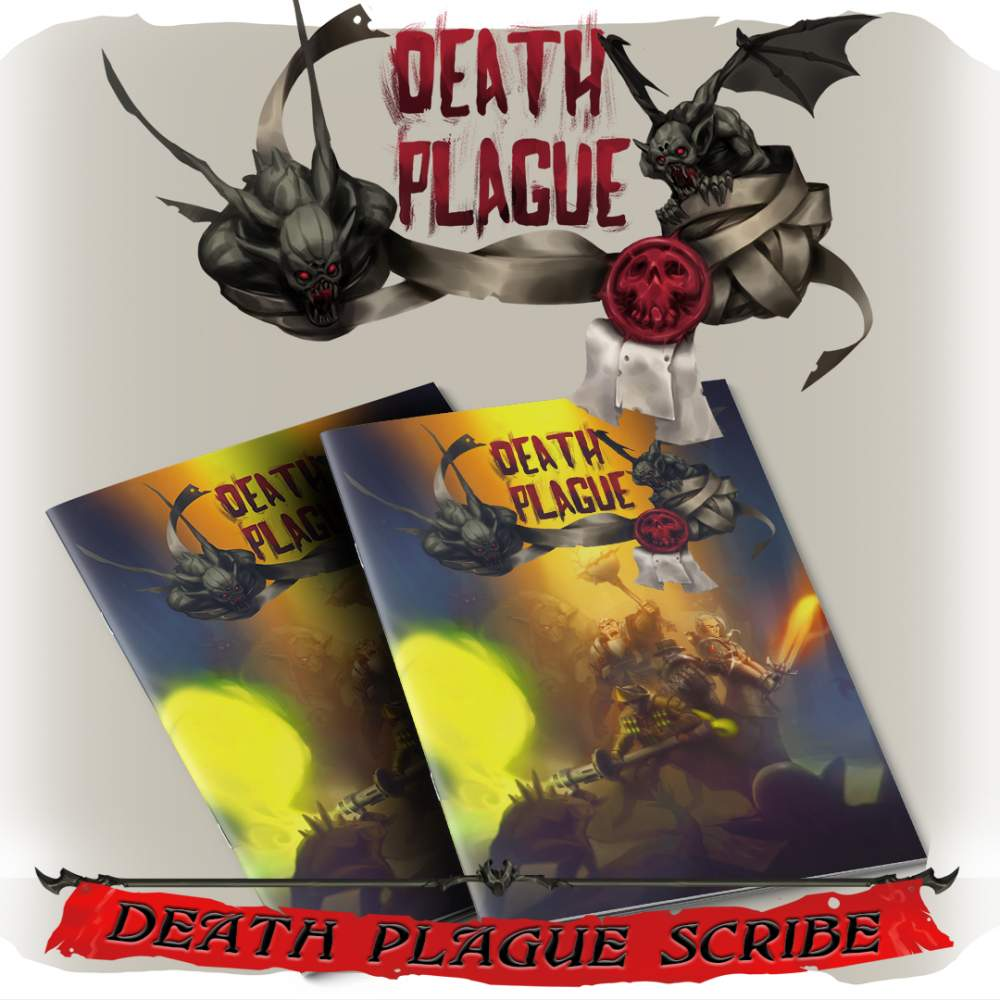 Death Plague Scribe's Cover