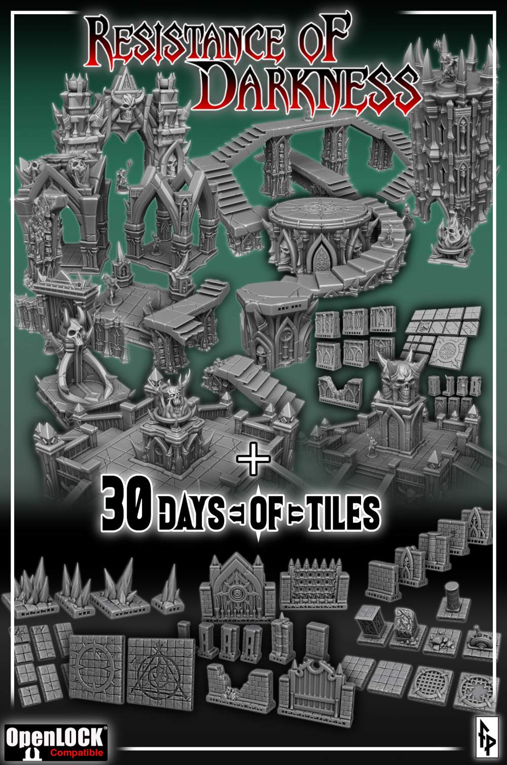 Blood Oath + 30 Days of Tiles 2020's Cover