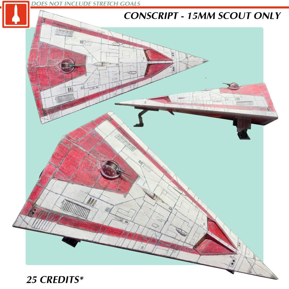 Conscript - 15mm Type S Ship Only's Cover