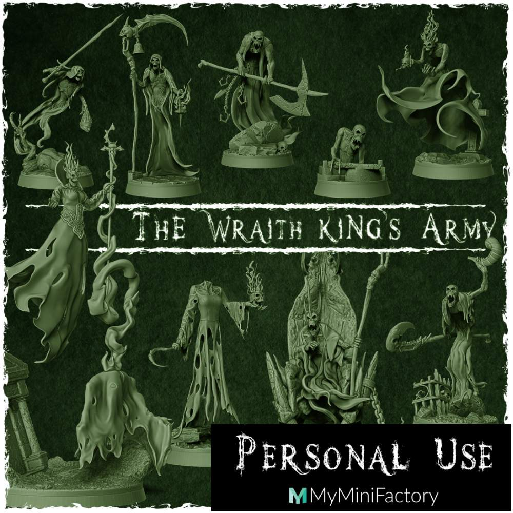 The Wraith King's Army's Cover