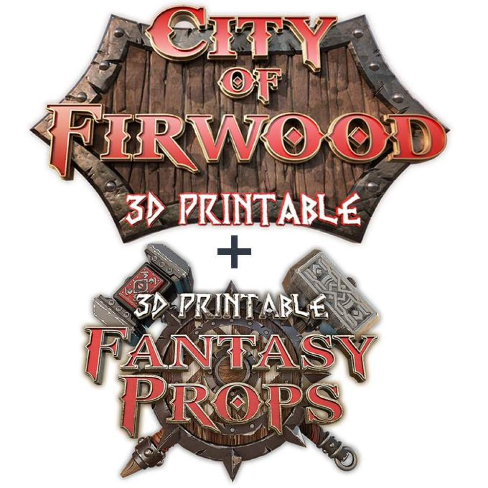 ALL IN - City of Firwood + Fantasy Props's Cover