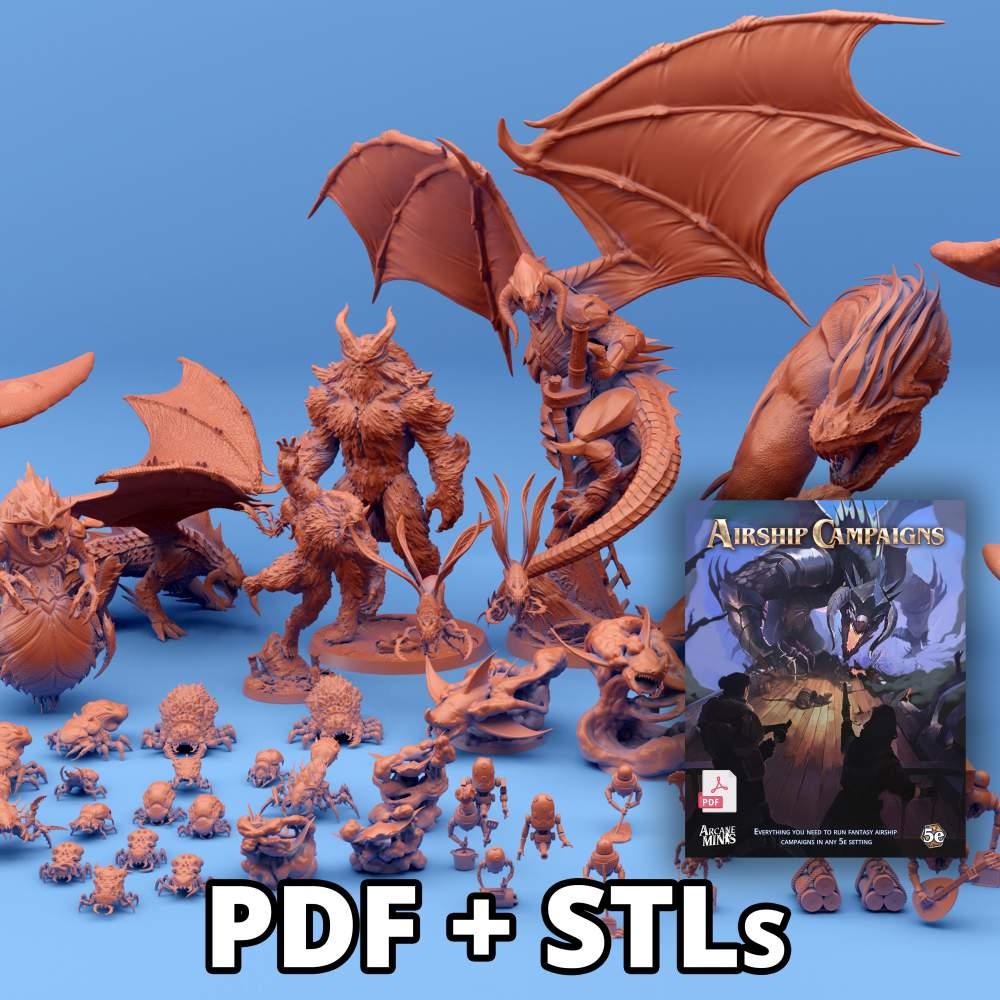 PDF + STLs's Cover