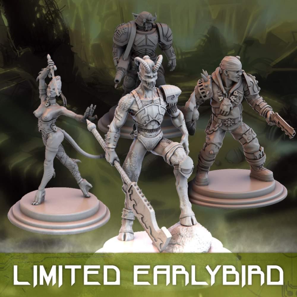 Skirmish - Basic Pledge (Early Bird)'s Cover