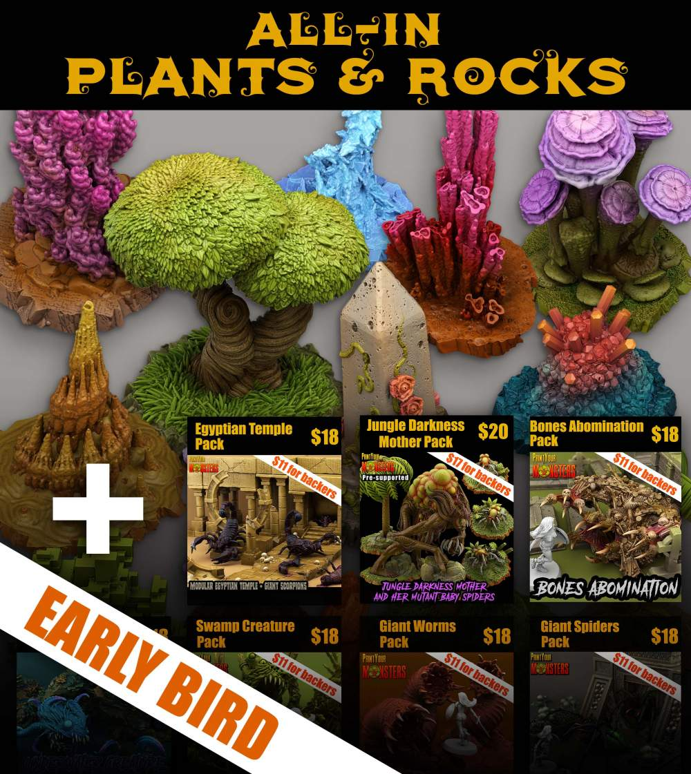 PLANTS & ROCKS ALL-IN (72hrs - EARLY BIRD, Ends on 29th)'s Cover