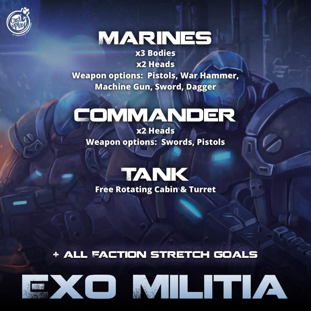 Exo Militia 's Cover