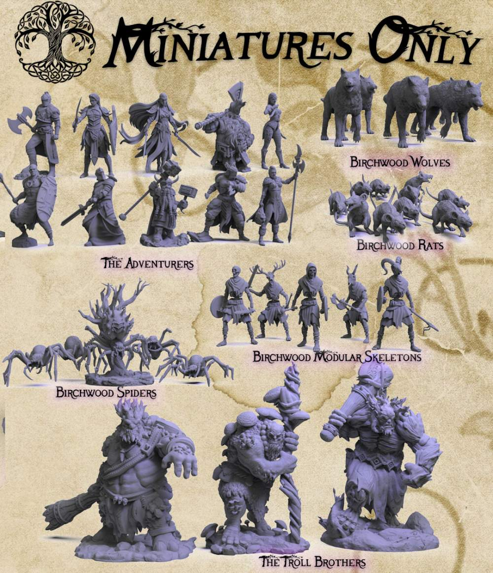 Birchwood Miniatures Only's Cover