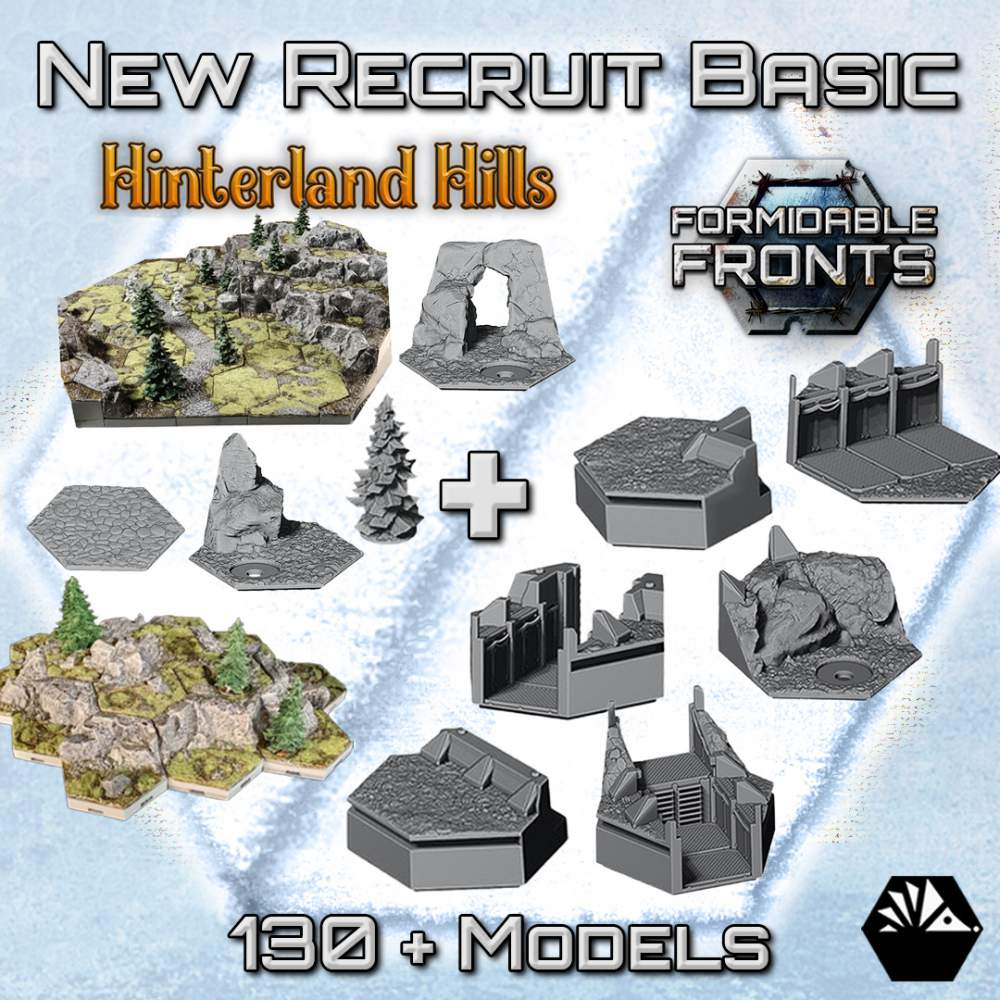 Formidable Fronts - New Recruit Basic⠀ ⠀ ⠀⠀ ⠀ ⠀⠀ ⠀ ⠀'s Cover