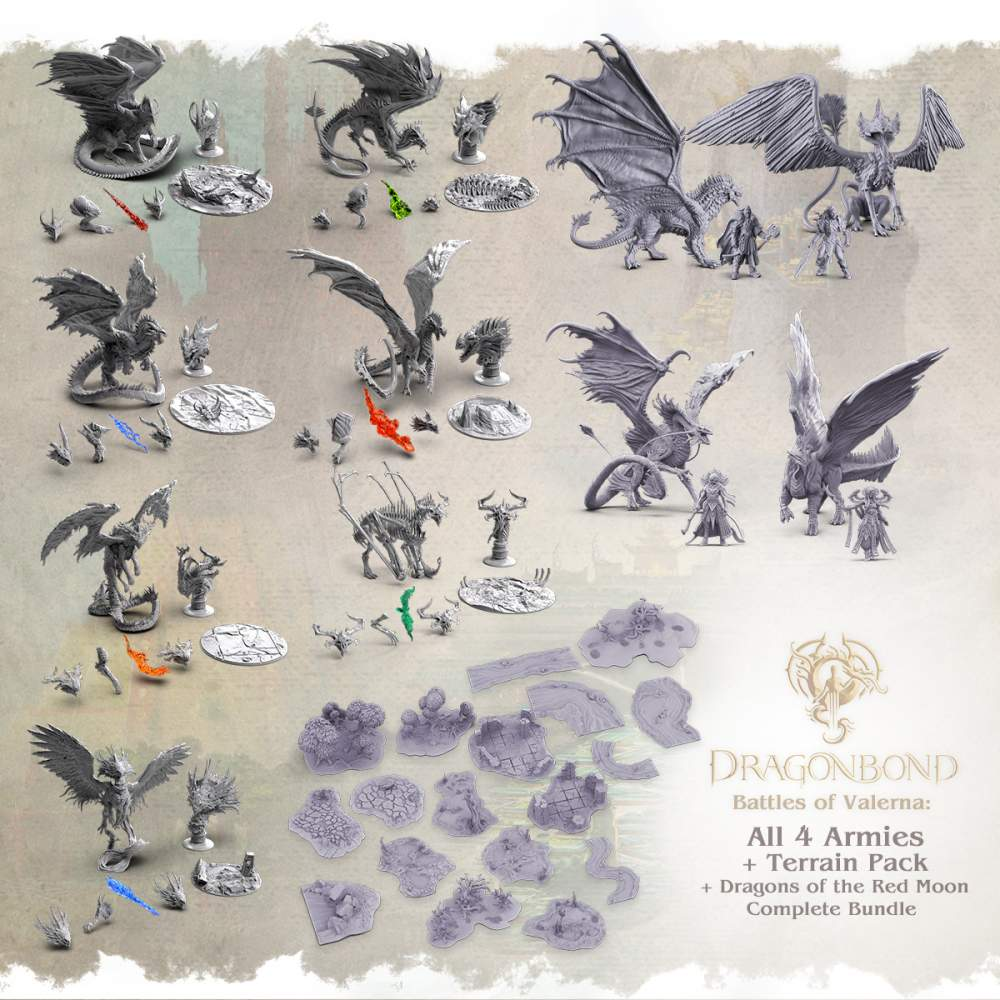 Great Wyrms + All Armies + Terrain's Cover