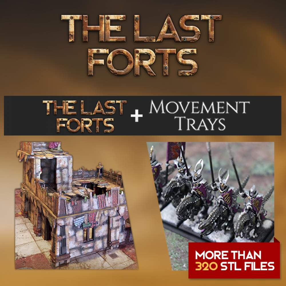 The Last Forts + Mov. Trays's Cover