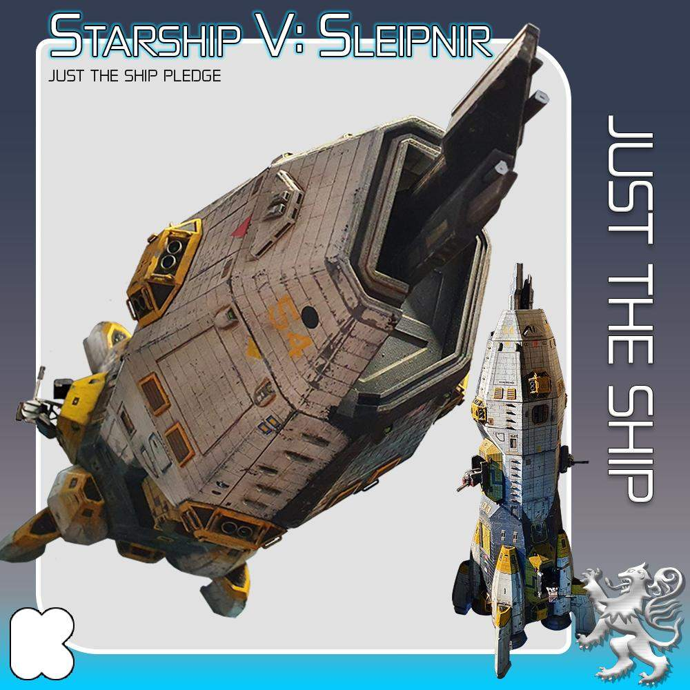 Just the Ship's Cover
