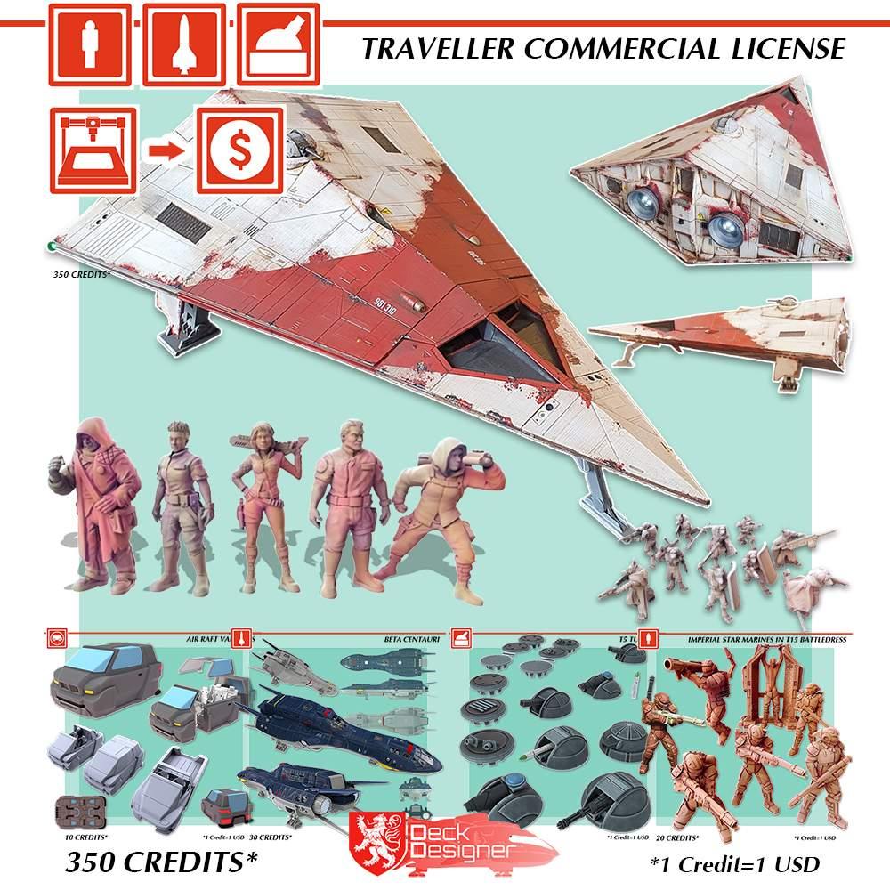 Traveller Commercial License's Cover