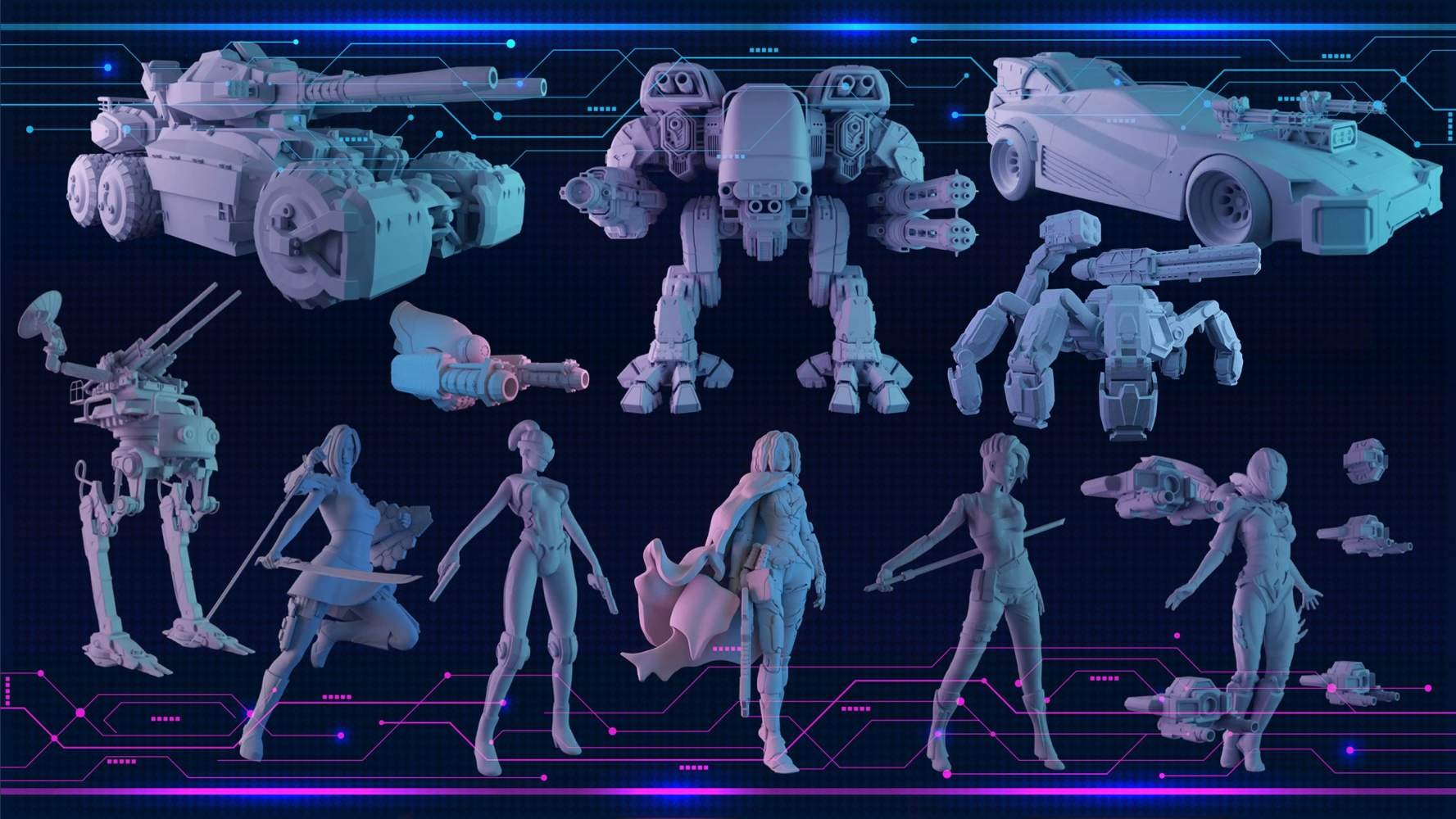 Mechs and Minis's Cover