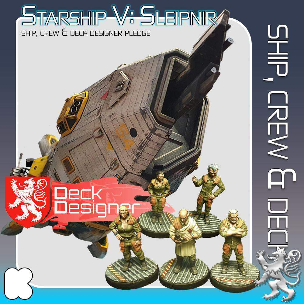 Ship, Crew and Deck Designer's Cover