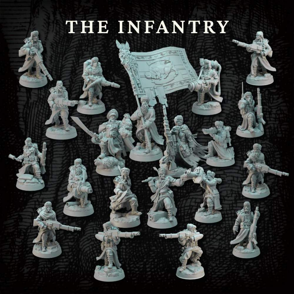 The Core Infantry's Cover