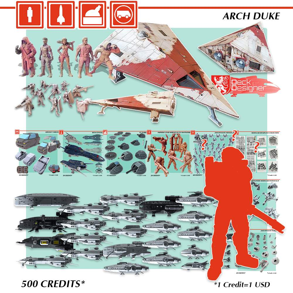 Arch Duke - Design Your Own Miniature!'s Cover