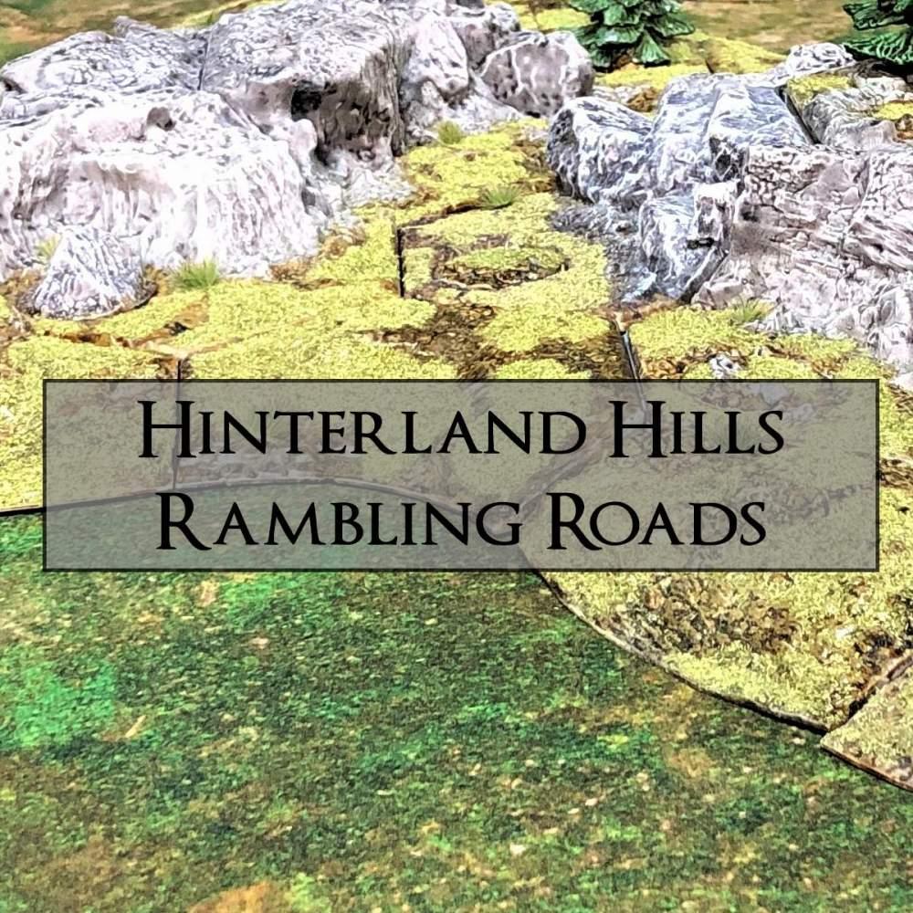 Hinterland Hills + Rambling Roads's Cover