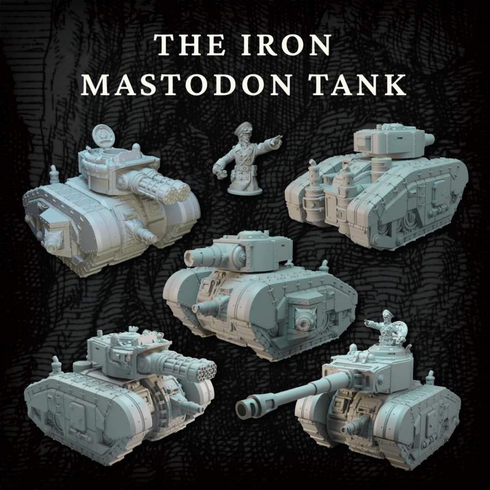 The Iron Mastodon's Cover