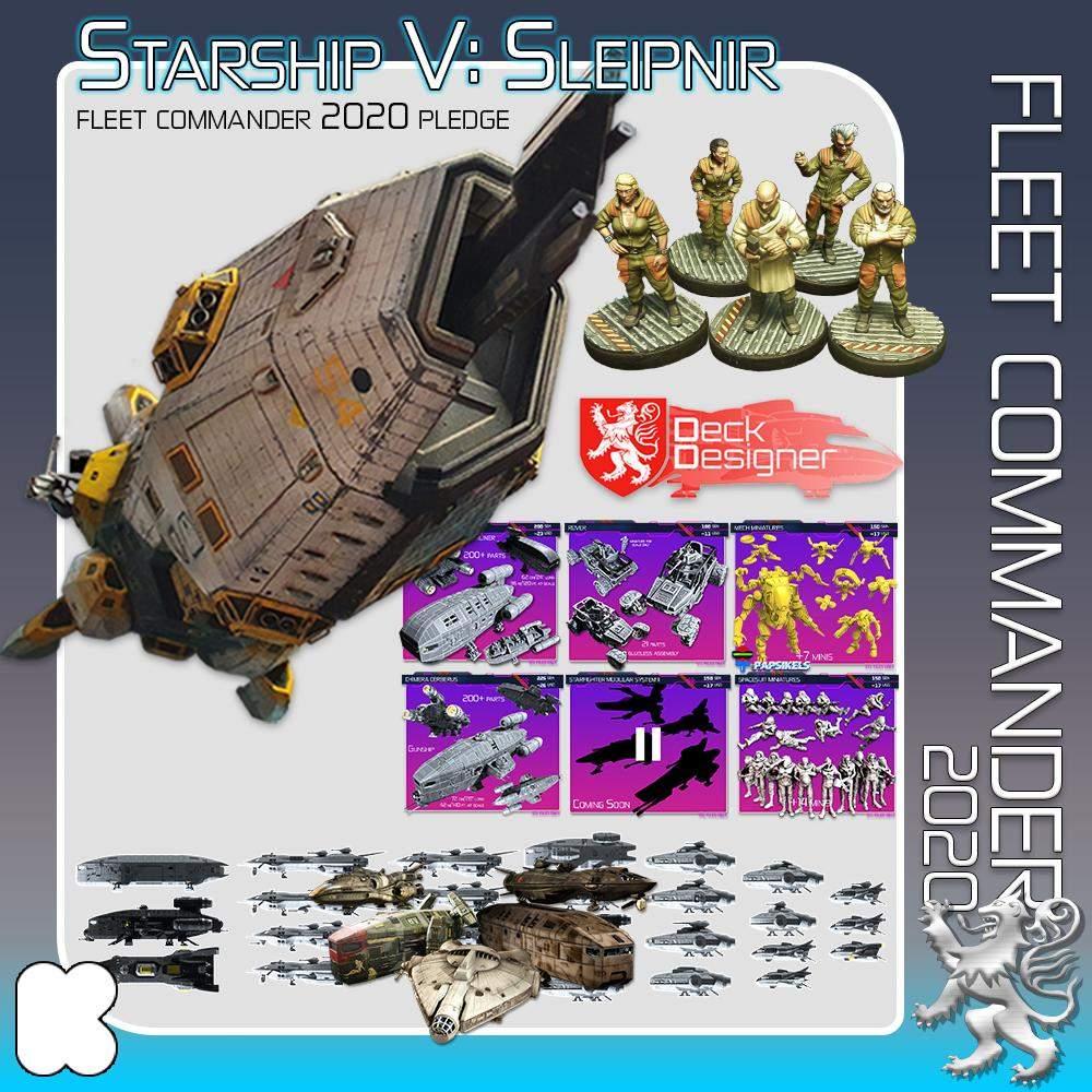 Fleet Commander 2020's Cover