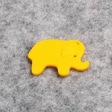 Simple Elephant Extruded Figure