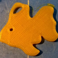 Picture of print of Simple Fish Extruded Figure