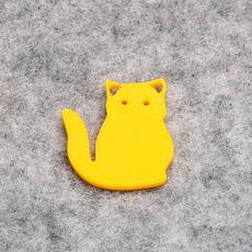 Simple Cat Extruded Figure