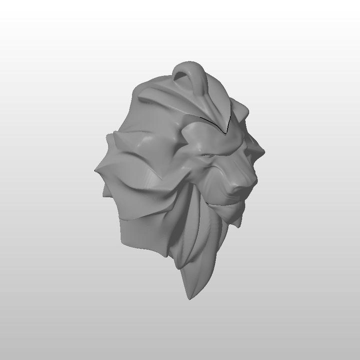 Keyholder Lion head