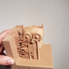 Picture of print of Owl Bookend